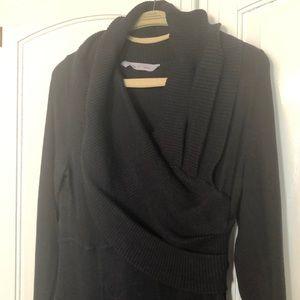 EUC Athleta Sweater dress Black Large
